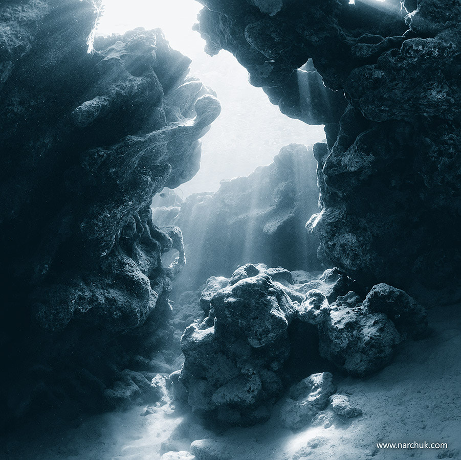 Photograph Blue cavern by Andrey Narchuk on 500px