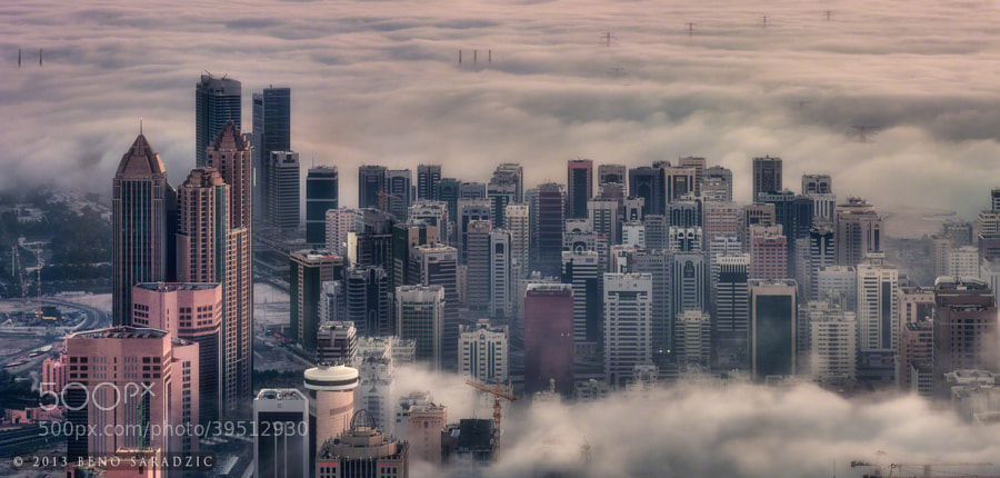 Photograph Cloud Abu Dhabi (panorama) by Beno Saradzic on 500px
