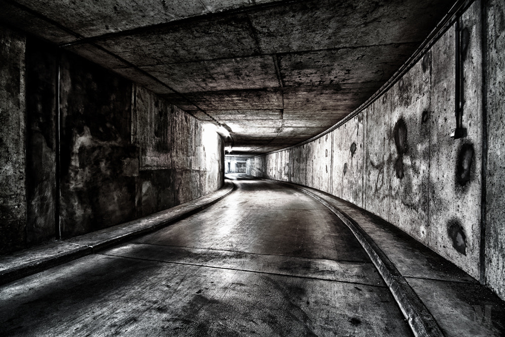 Photograph the tunnel by Matthias Schulte on 500px