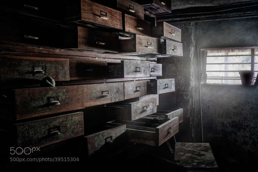 Photograph Dreams drawers by the_monk_D on 500px