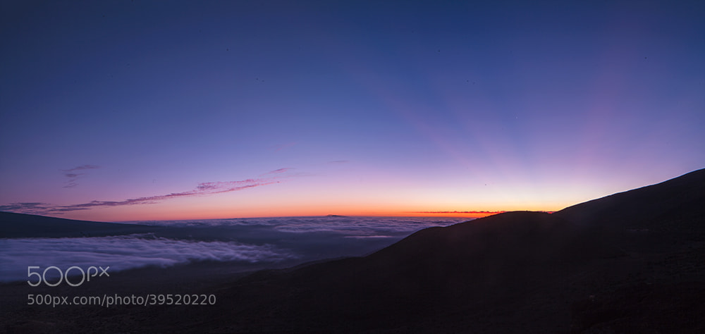 Photograph Sunset at Mauna Kea by MG Moscatello on 500px
