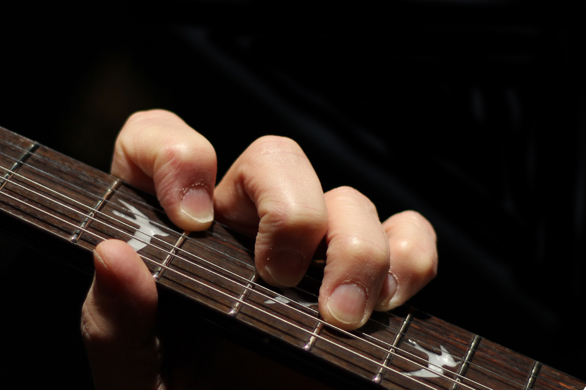 Photograph My View - Fingers on the Fretboard by Andy Operchuck on 500px