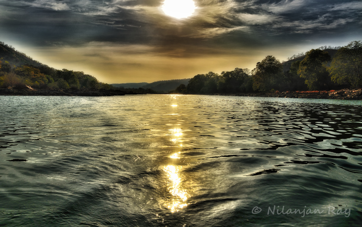 Photograph Cauvery Sunset by Nilanjan Ray on 500px