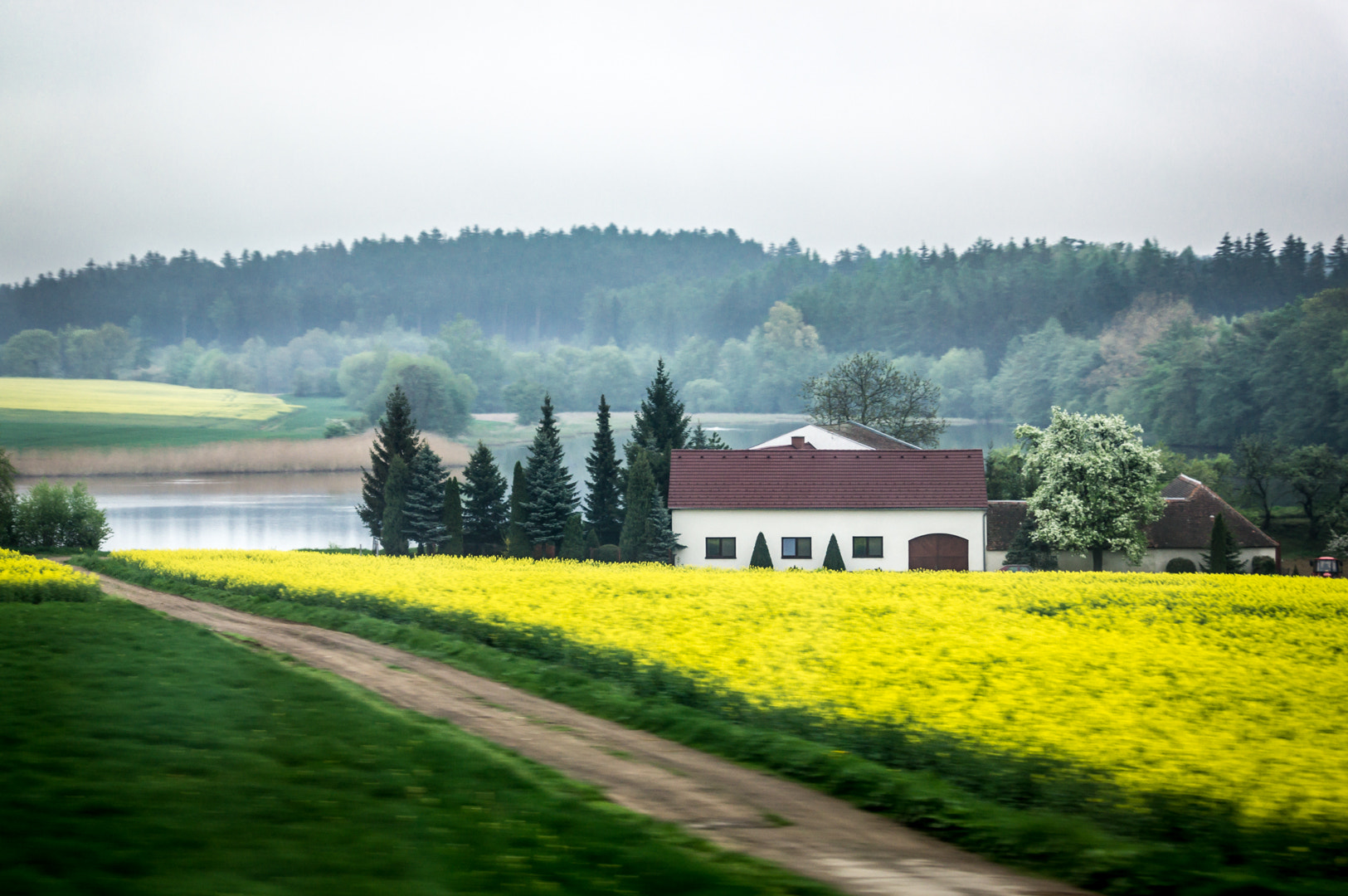 Photograph House in Czech fields by Alex Demchenko on 500px