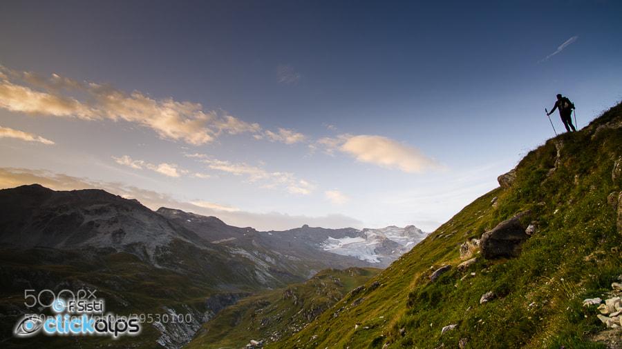Photograph Quand nous sommes là-haut... (Valle di Rhêmes, Parco Nazionale Gran Paradiso, Valle d'Aosta) by Francesco Sisti on 500px