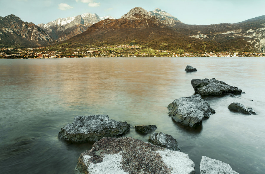 Photograph afternoon at Como lake /2 by FeFoPhotography  on 500px