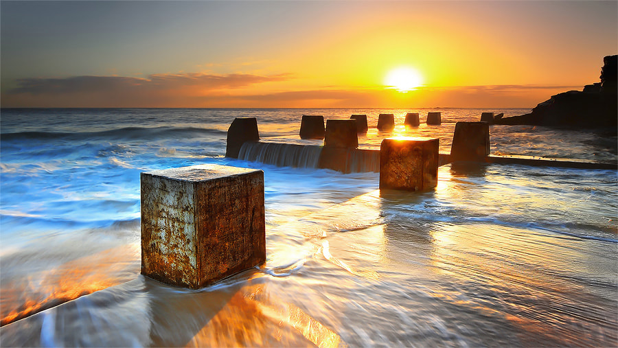 Photograph Sunrise@Coogee Beach by MONSTERMICKY ! on 500px