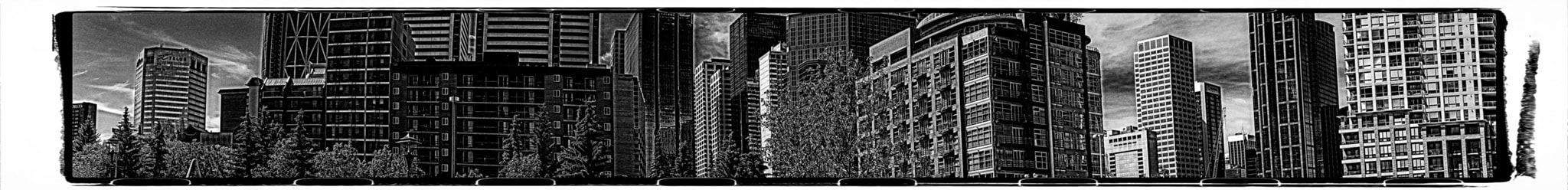 Photograph 2013P52B&W 27/52: Panoramic - City Sliver by Paul Howard on 500px