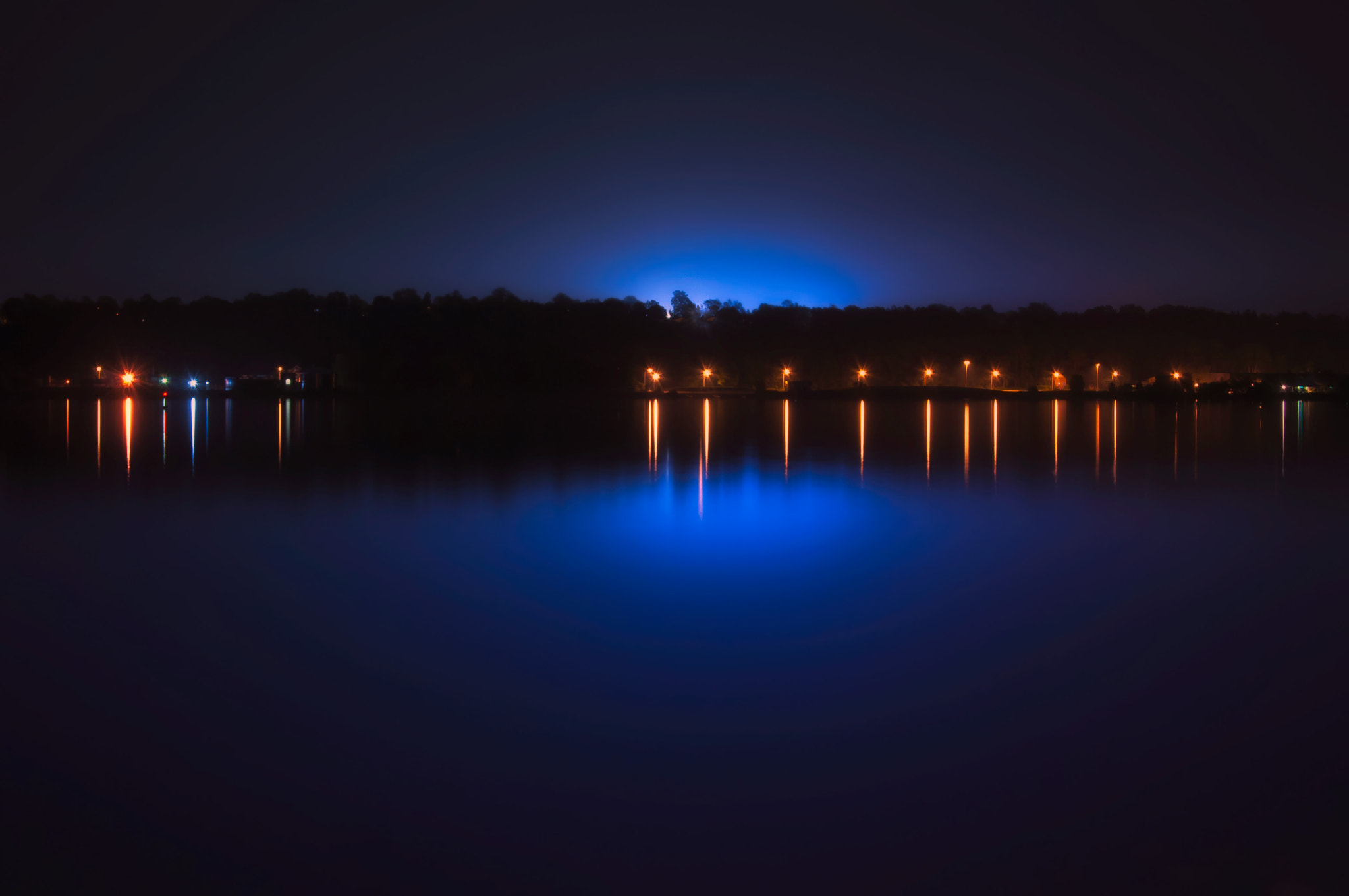 Photograph 11:59 Blue by Paul  Murphy on 500px