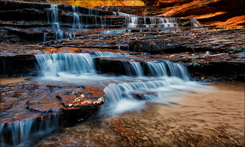 Photograph Arch Angel Falls, Zion National Park by Don Smith on 500px