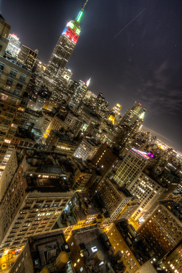 Photograph Manhattan Electric Slide by Justin Kiner on 500px