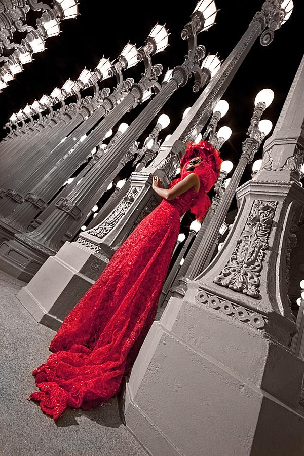 Photograph Lady in Red by Bob Jensen on 500px