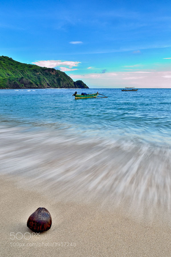 Photograph Mawun Beach by Aries Dwi Putranto on 500px