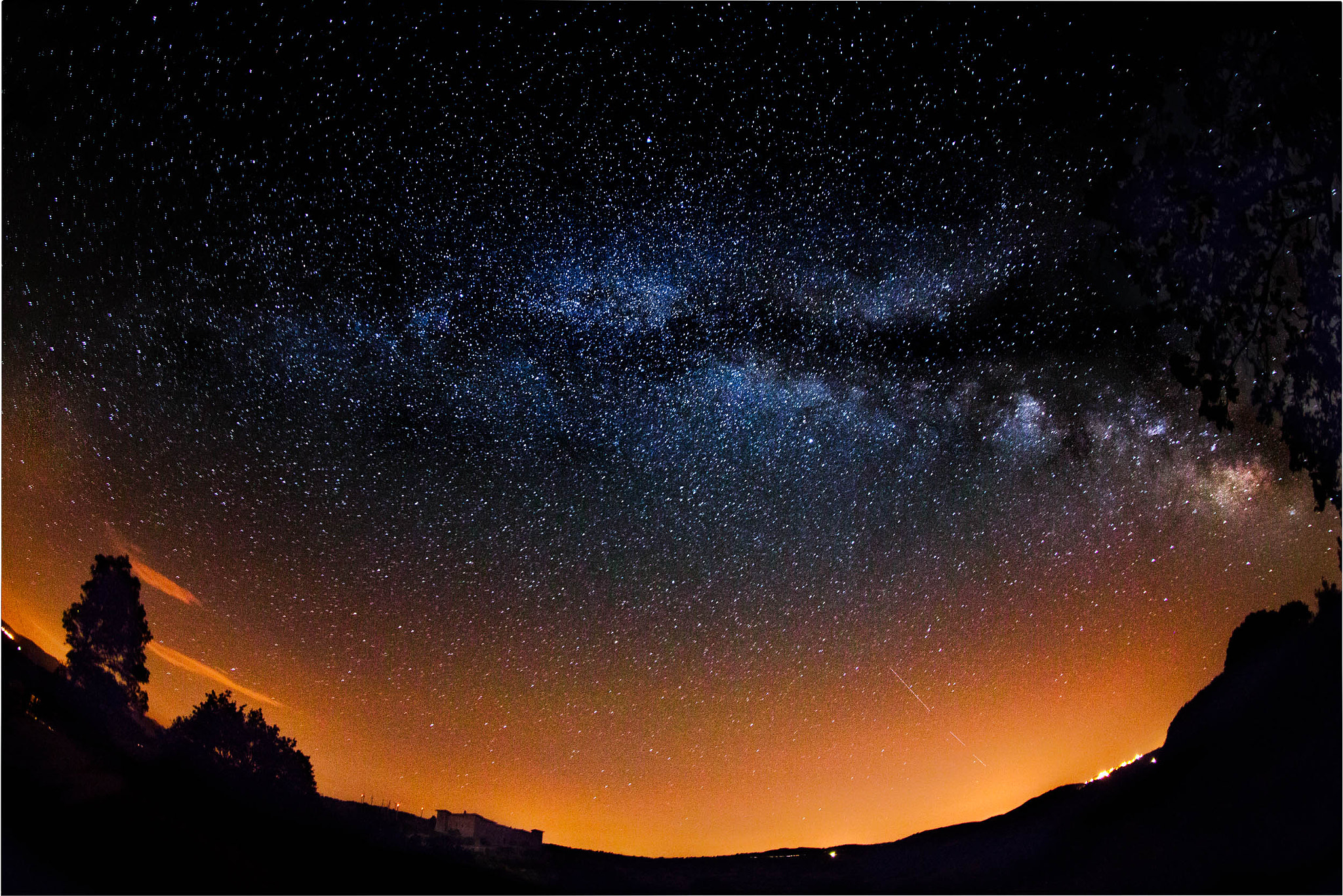Photograph Milkway Montepo castle by Luca Martelli on 500px