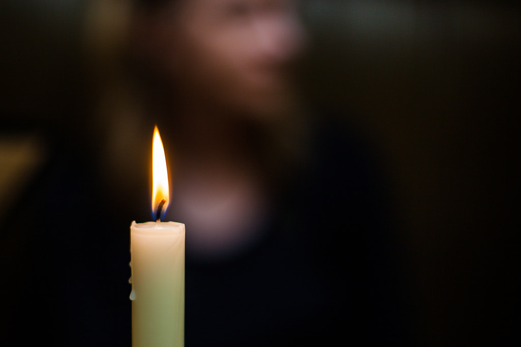 Photograph Candlelit by Stephen Holmes on 500px