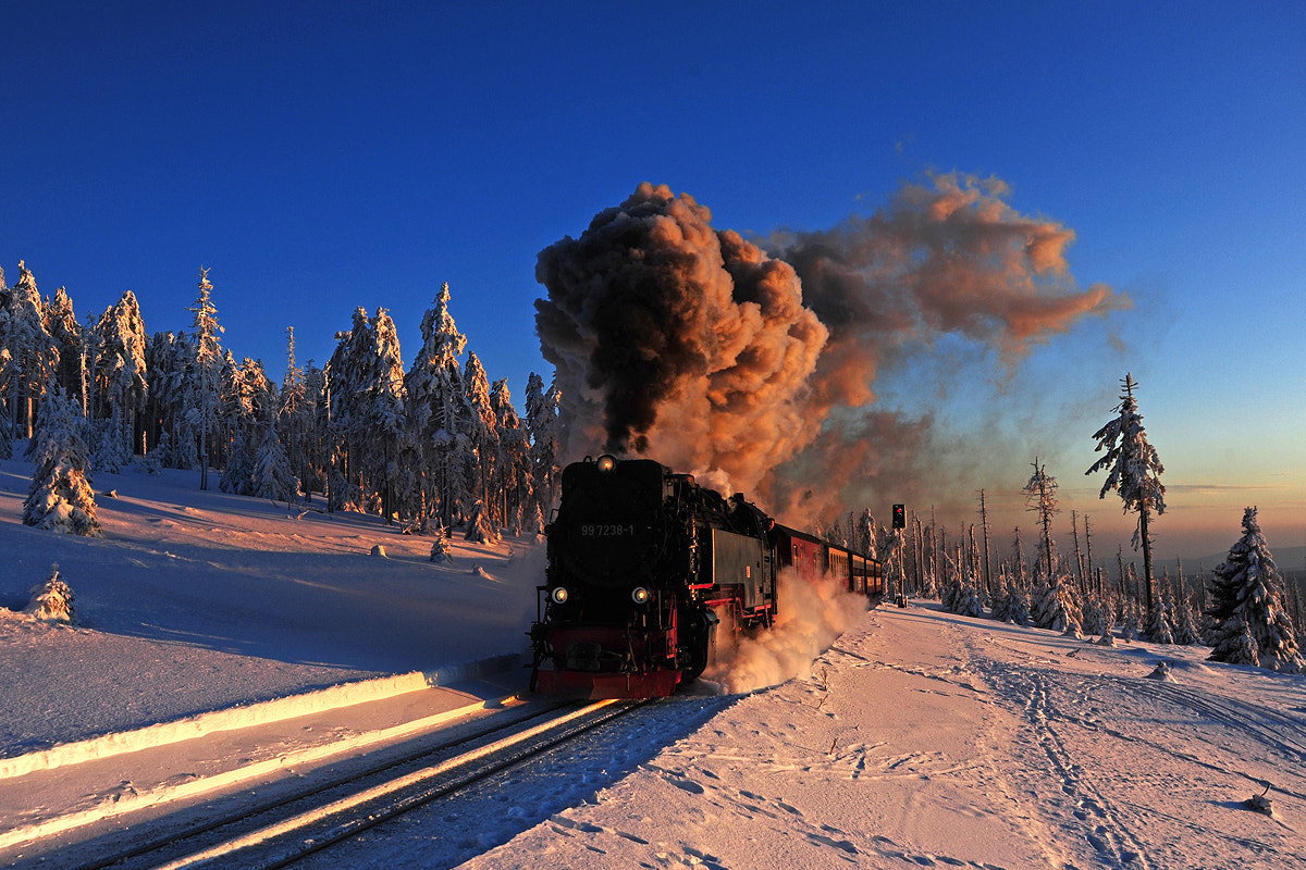 Photograph Letzter Brockenzug by Michael Hubrich on 500px
