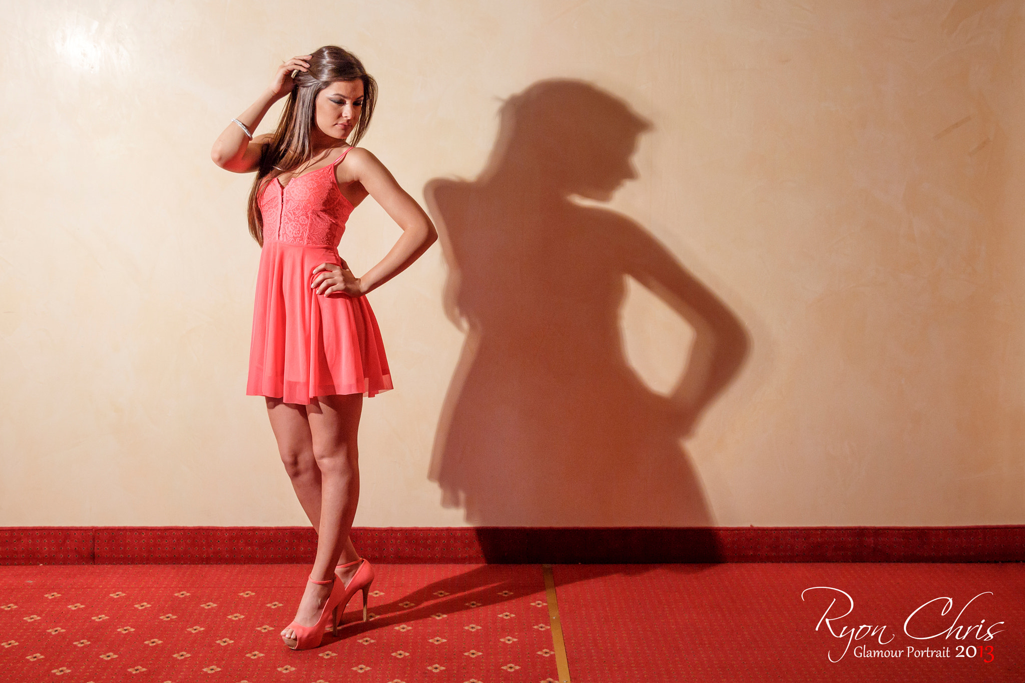 Photograph Shadow Lady by Ryon Chris on 500px