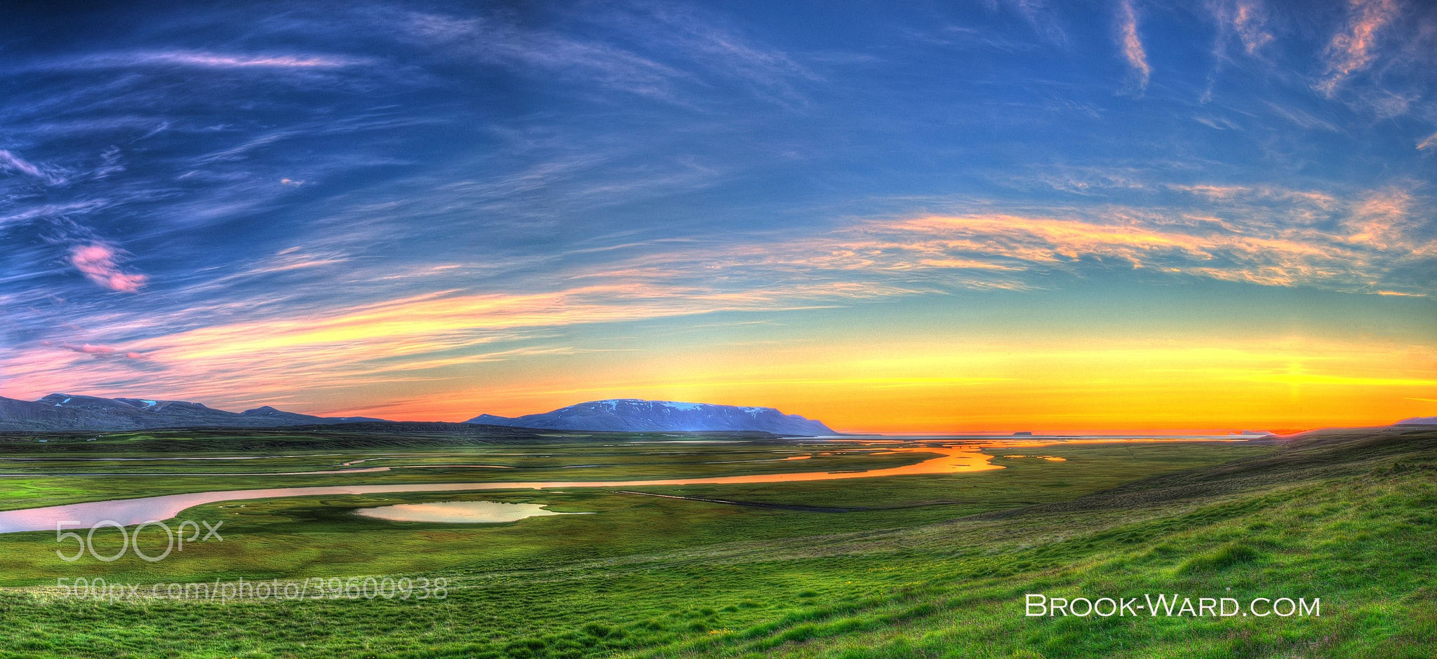 Photograph Iceland Sunset by Brook Ward on 500px