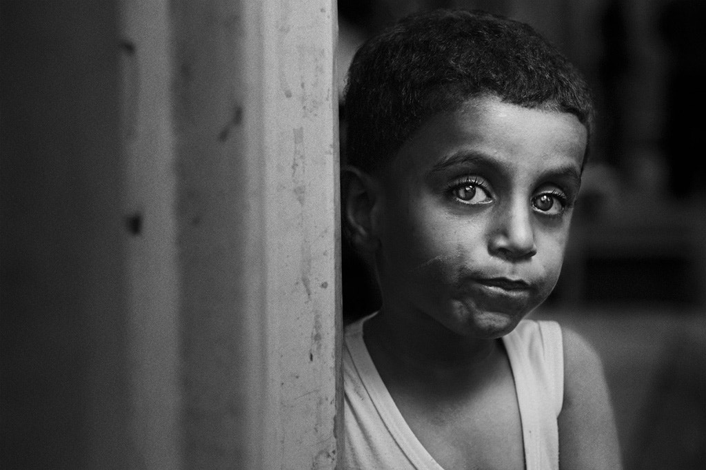 Photograph boy from the street by Zuhair Ahmad on 500px