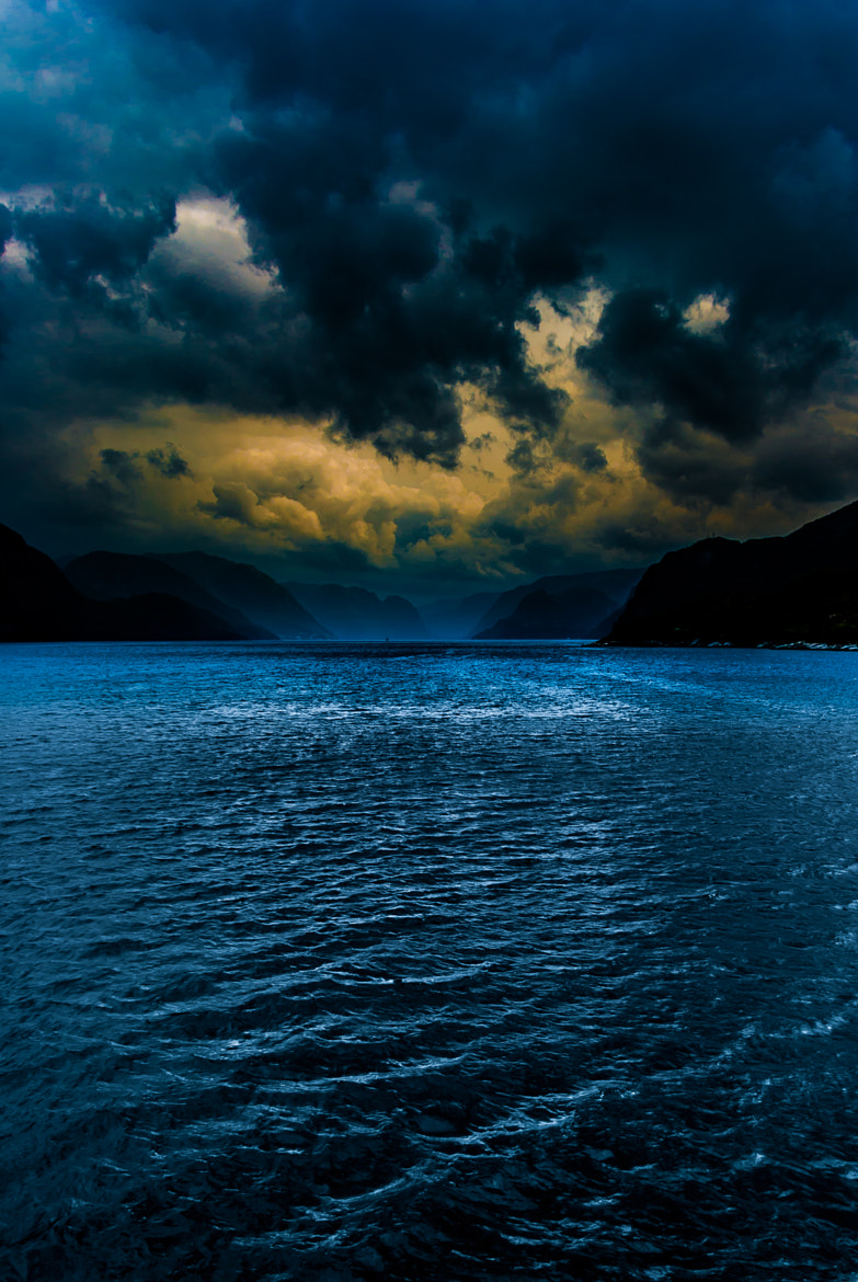 Photograph Dark fjord norway by Teus Renes on 500px