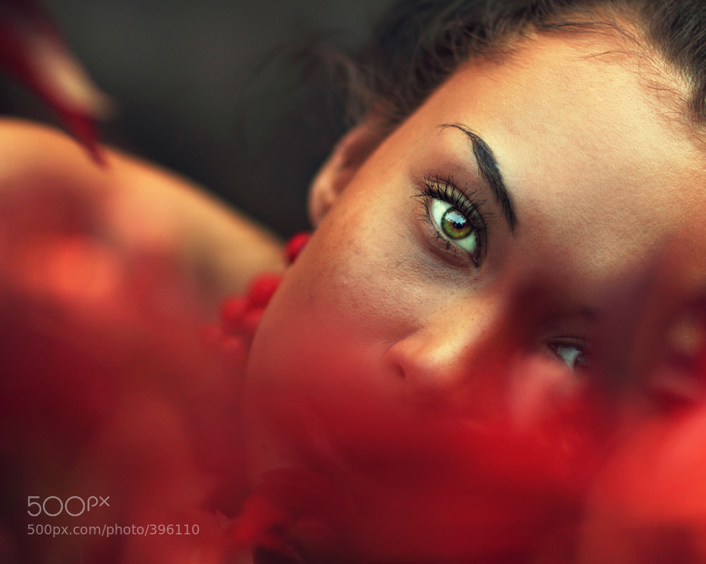 Photograph in red by Evgeni Chistyakov on 500px