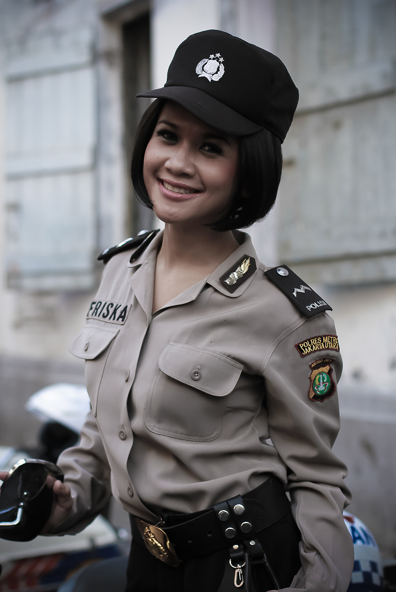 Photograph Woman Police by Abumessi Journey on 500px