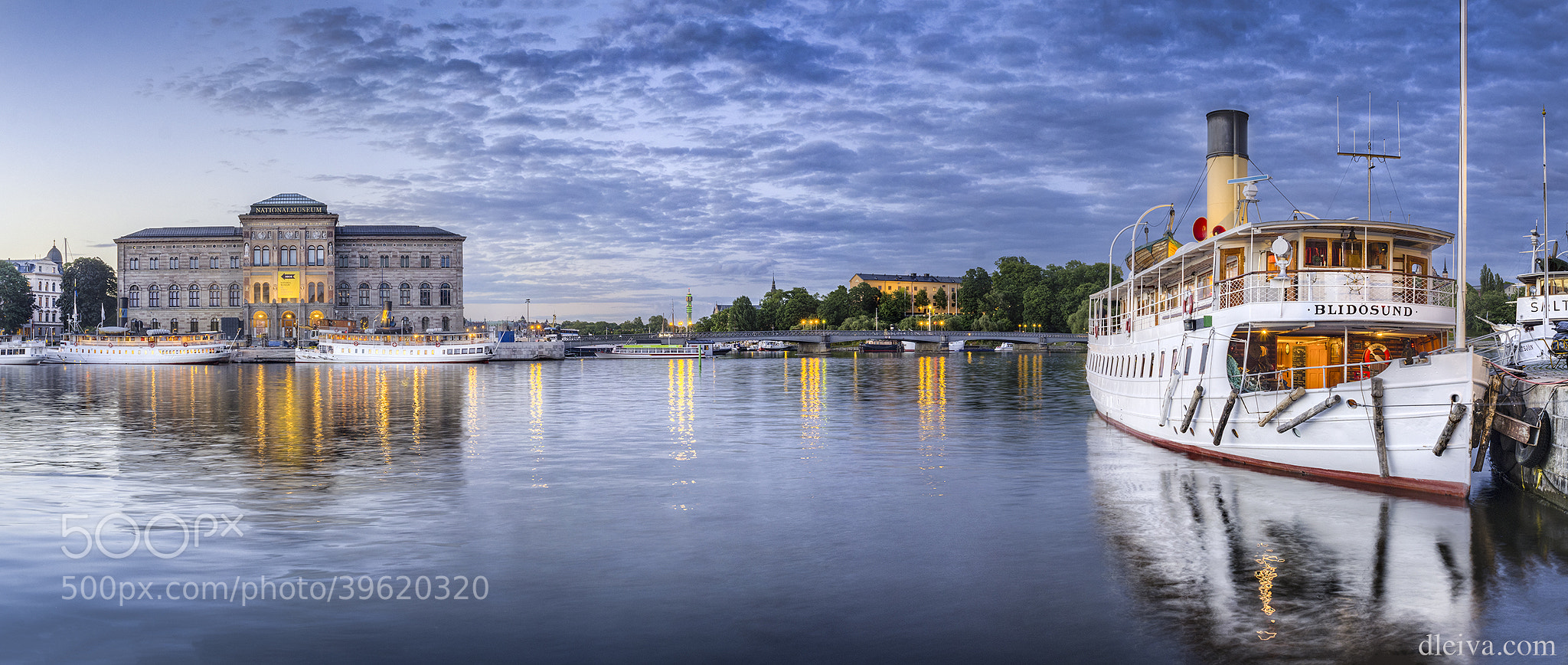 Photograph National Museum (Stockholm, Sweden) by Domingo Leiva on 500px