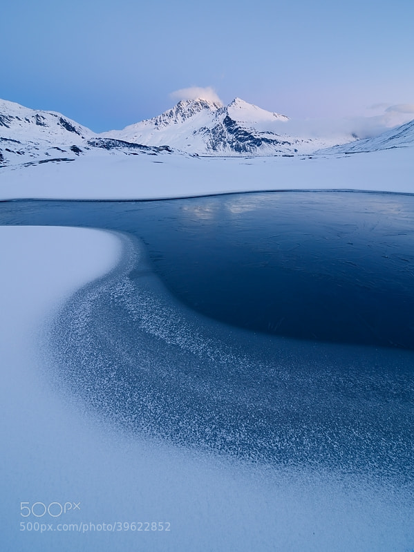 Photograph Sinuous ice versione 2 by Marco Barone on 500px
