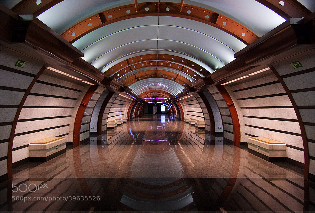 Photograph  Obvodny kanal Metro Station. by Alex N. on 500px