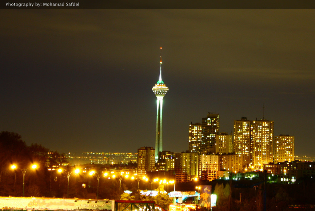 Photograph Milad Tower (Iran, Tehran) by Mohammad Safdel on 500px