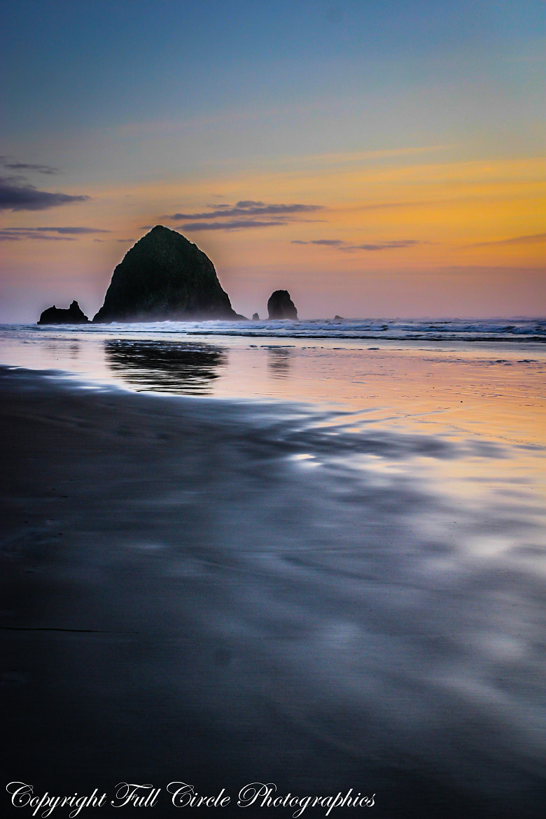 Photograph Winter Sunset, Cannon Beach by Pandyce McCluer on 500px