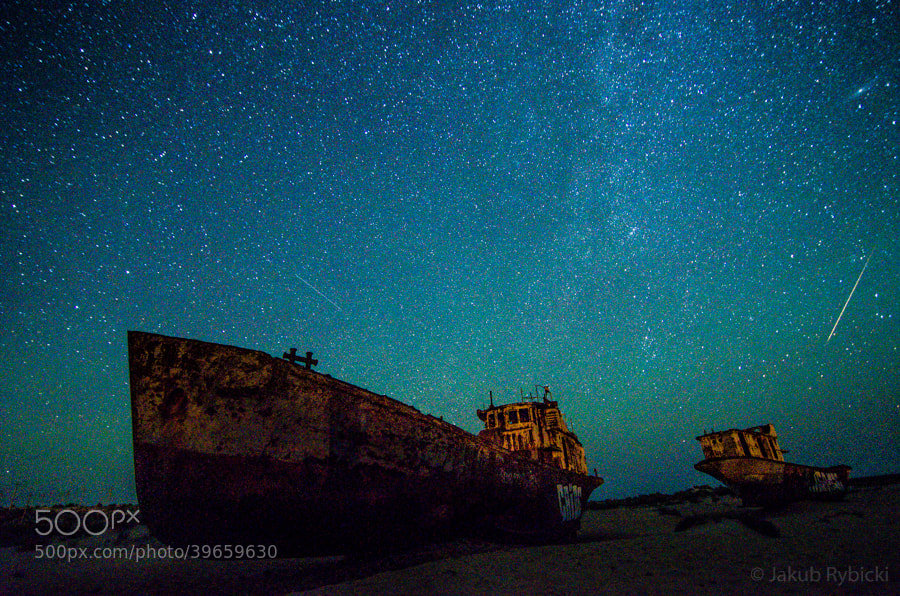 Photograph Aral Sea night by Jakub Rybicki on 500px