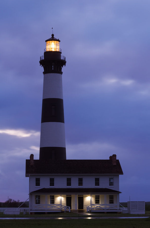 Bodie Island Lighthouse Before Sunrise