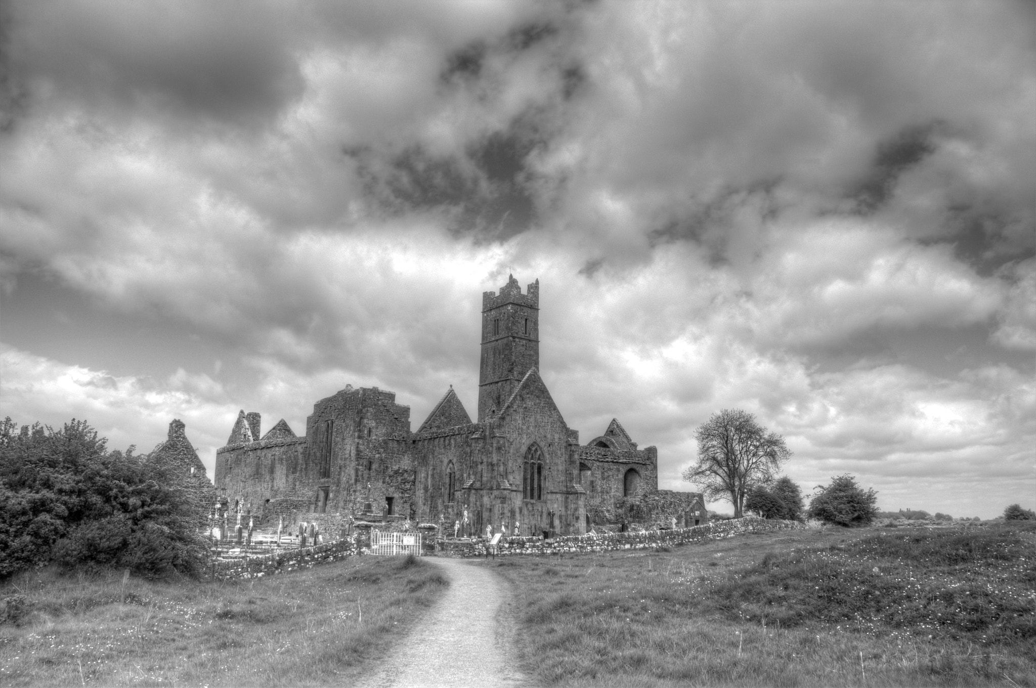 Photograph Approaching Quin Abbey by Maria Brown on 500px