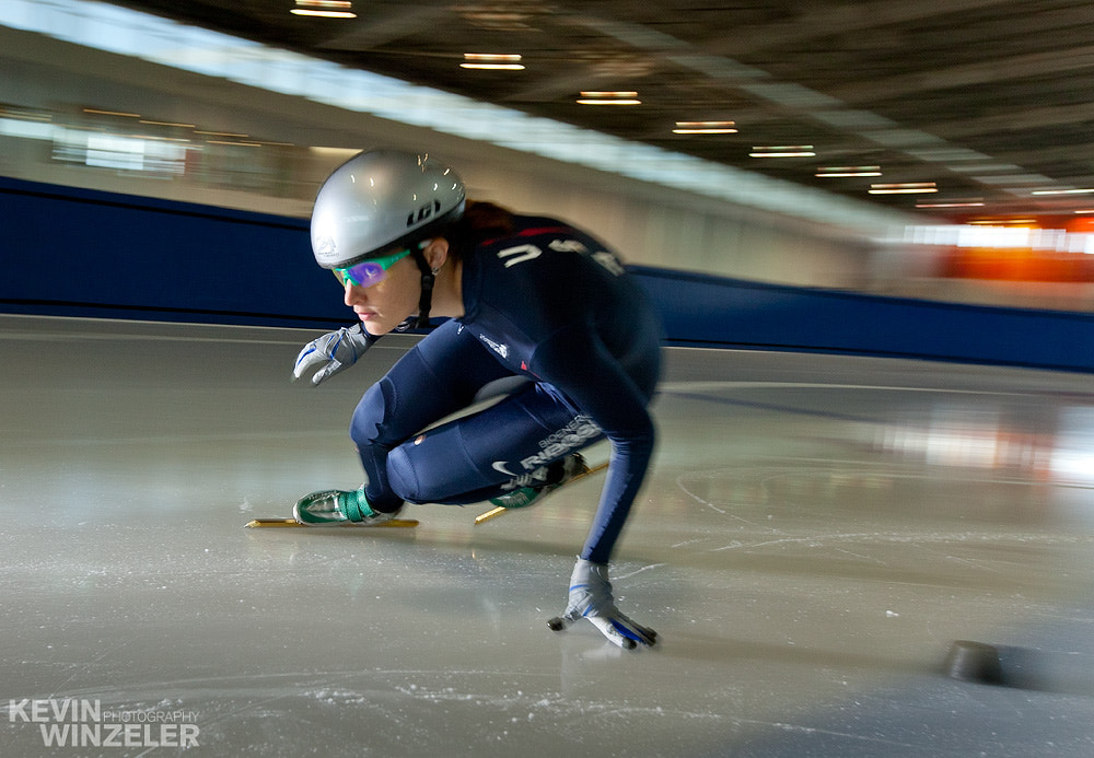 Photograph Short Track - Speed Skating by KevinWinzeler.com  ~ sports, lifestyle on 500px