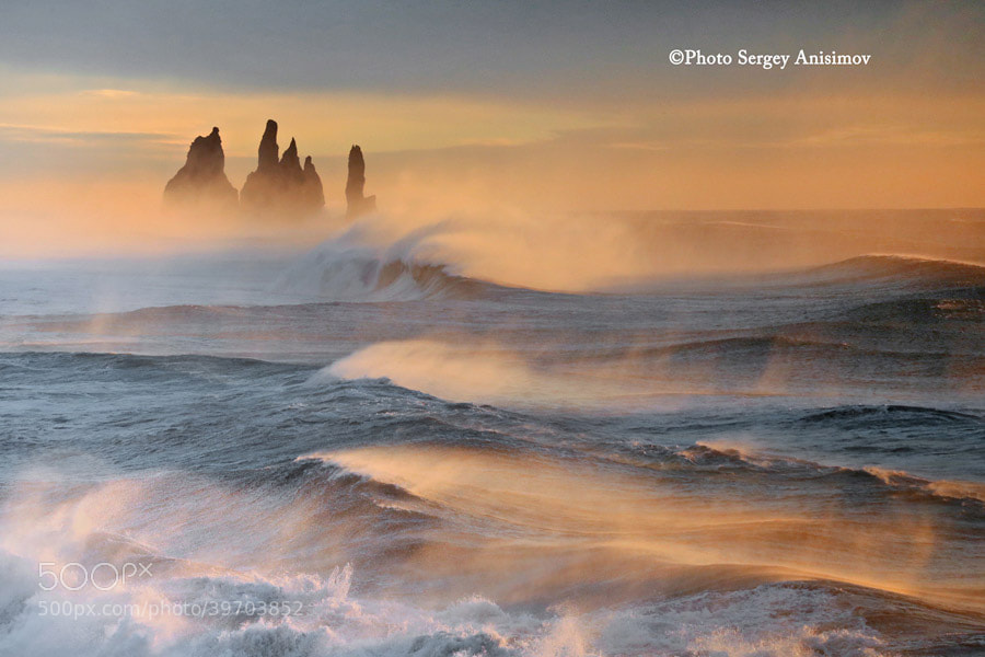 Photograph morning of Iceland by Сергей Анисимов on 500px