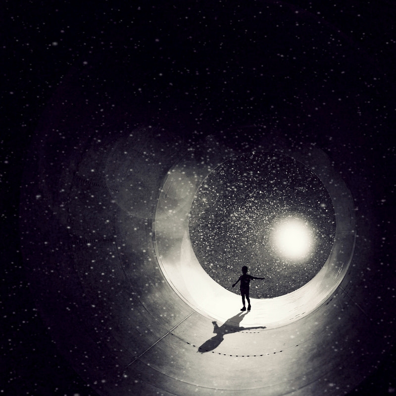 Photograph out of the black hole by Emese-durcka Laki on 500px