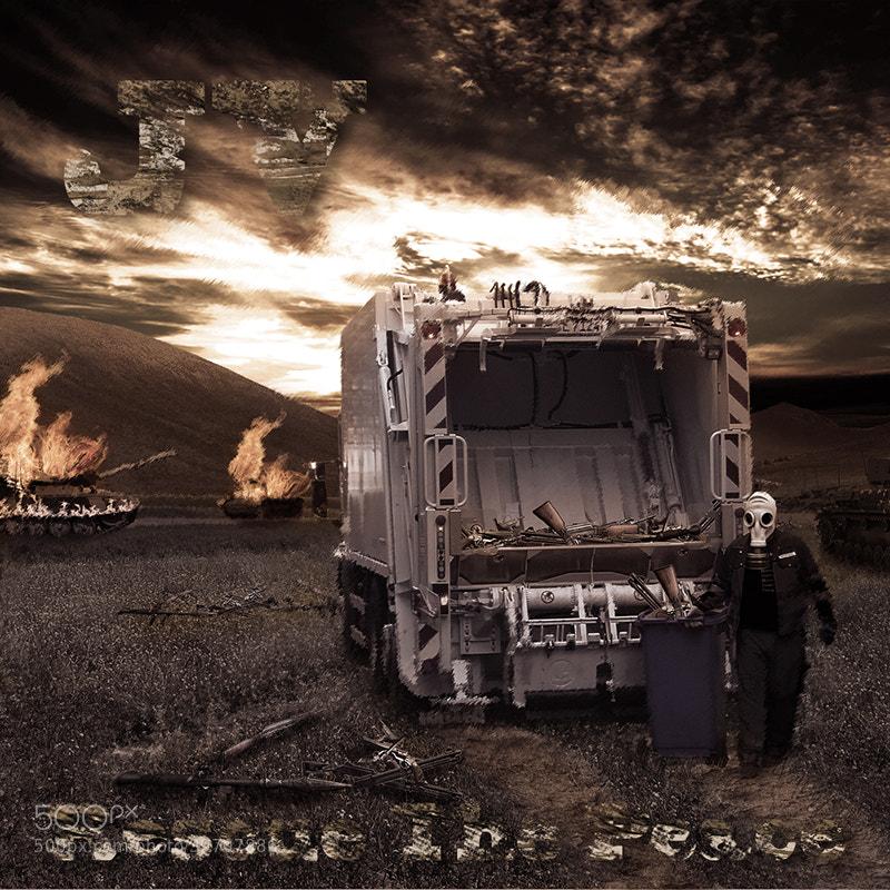 Photograph Rescue The Peace (Album Cover) by Der Mr. Crisp on 500px