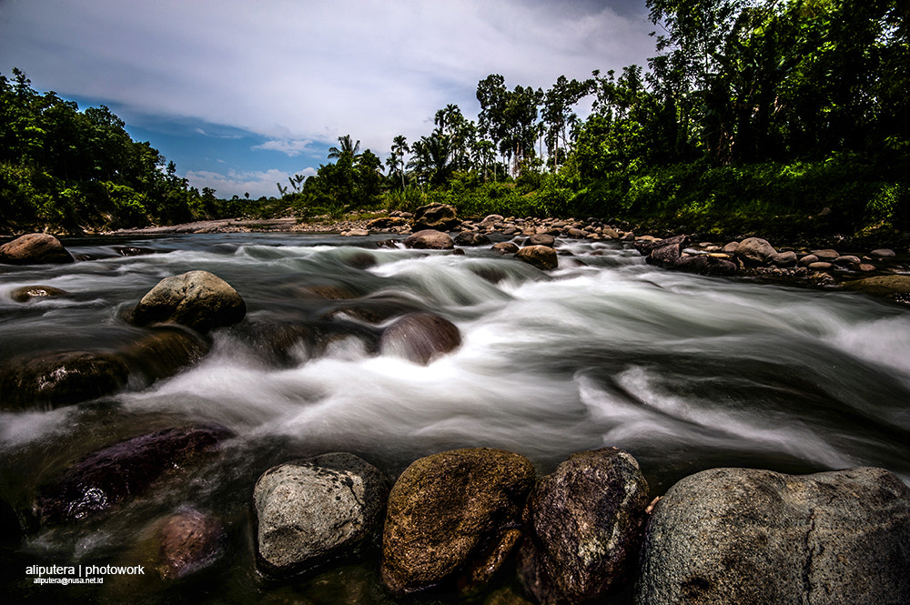 Photograph Rocks in the river  by ali putera on 500px