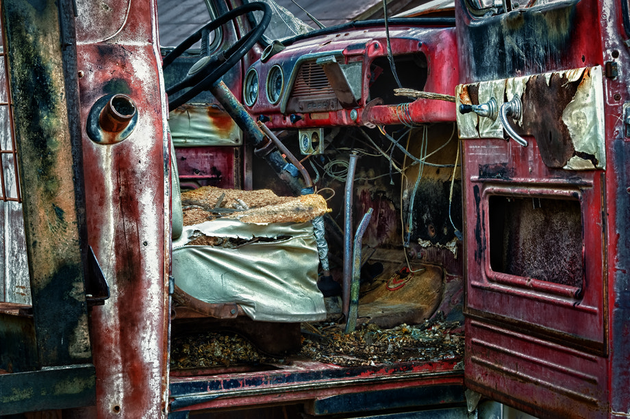 Photograph Abandoned truck by Robert Sohovich on 500px