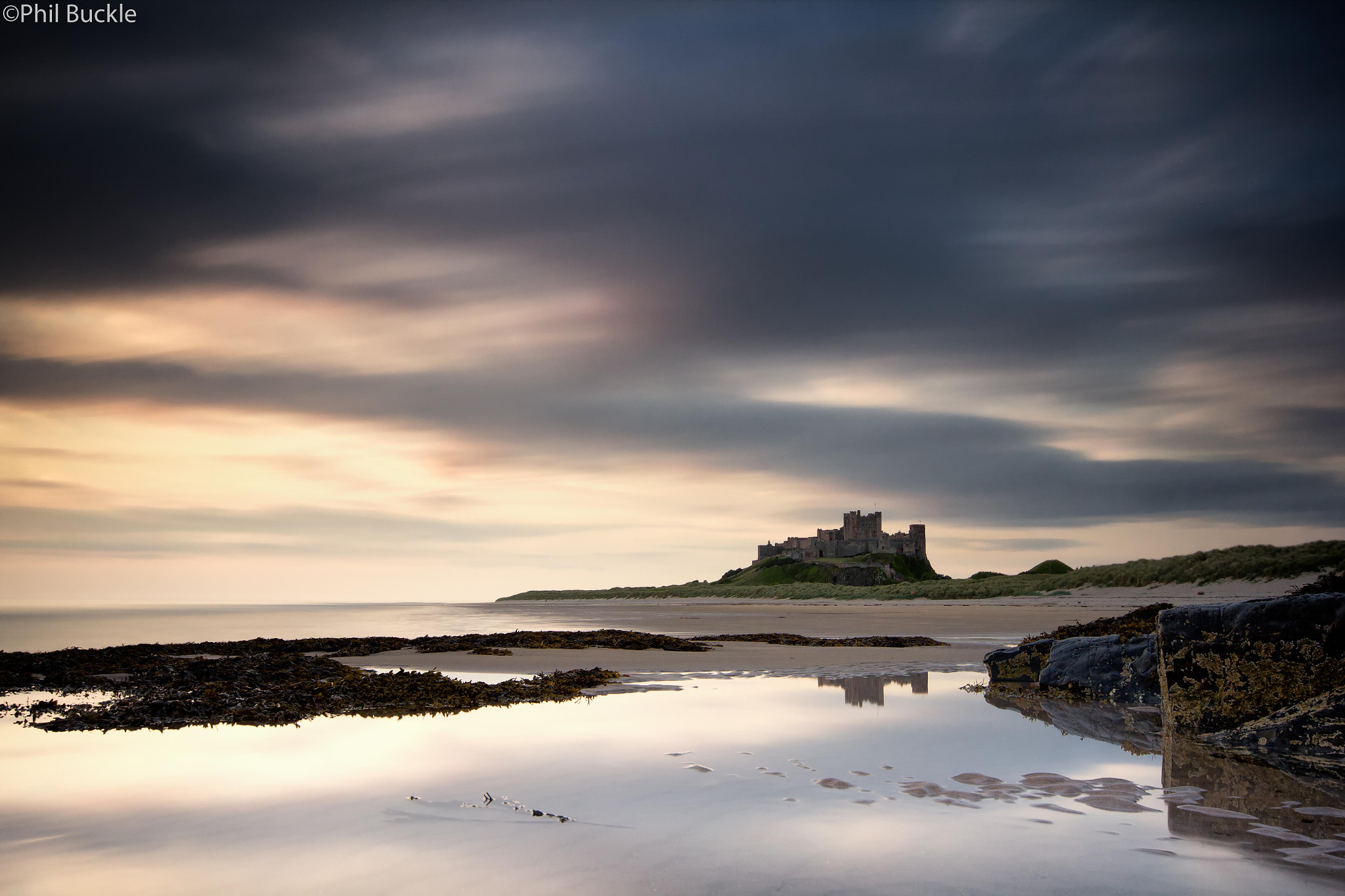 Photograph Bamburgh Dawn by Phil Buckle on 500px