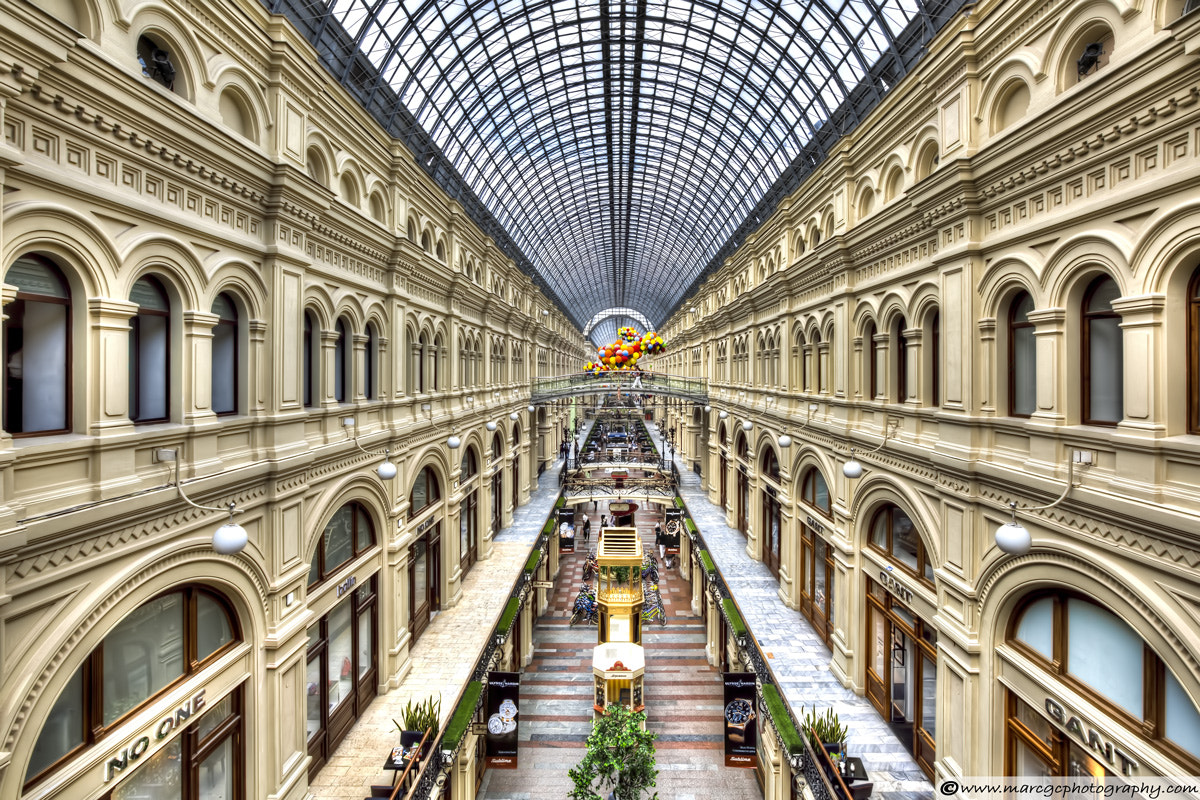 Photograph GUM Department Store in Moscow by Marc Garrido on 500px