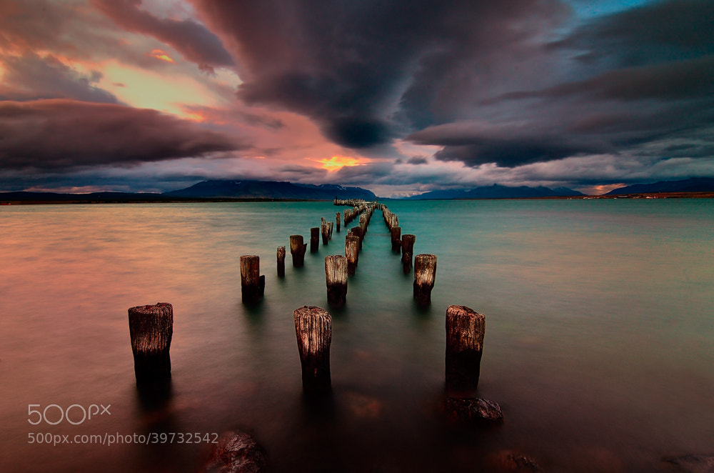Photograph Puerto Natales by Idan  Ben Haim on 500px