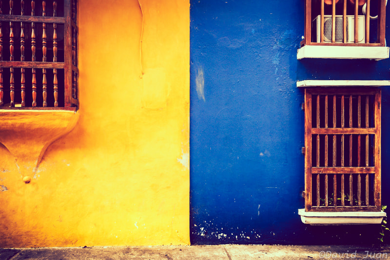 Photograph Yellow&Blue by David Juan on 500px