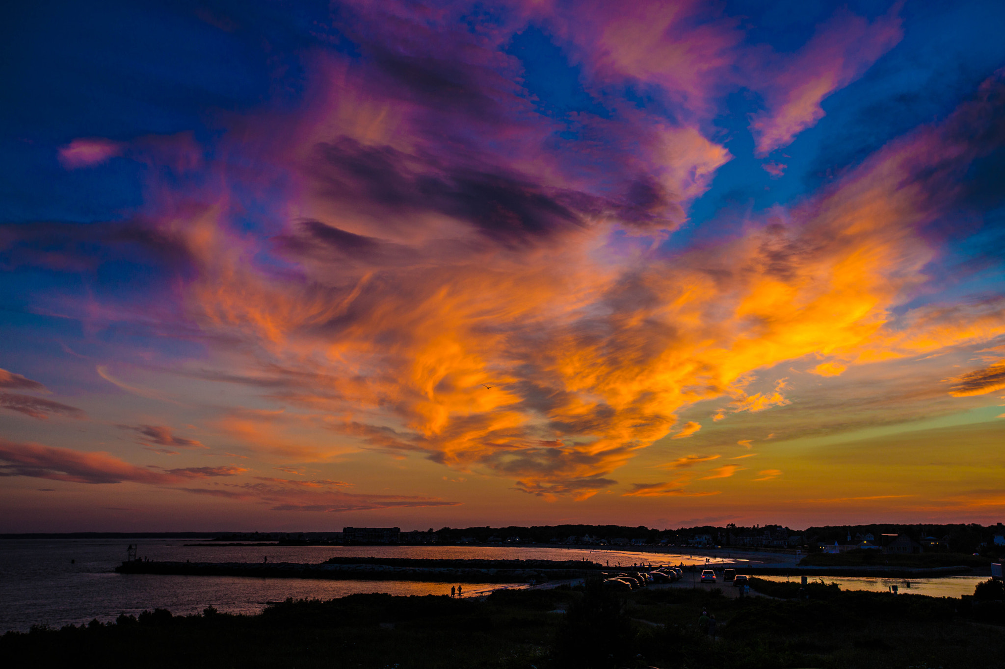 Photograph Sunset over Kennebunkport (Maine) by John Hoey on 500px