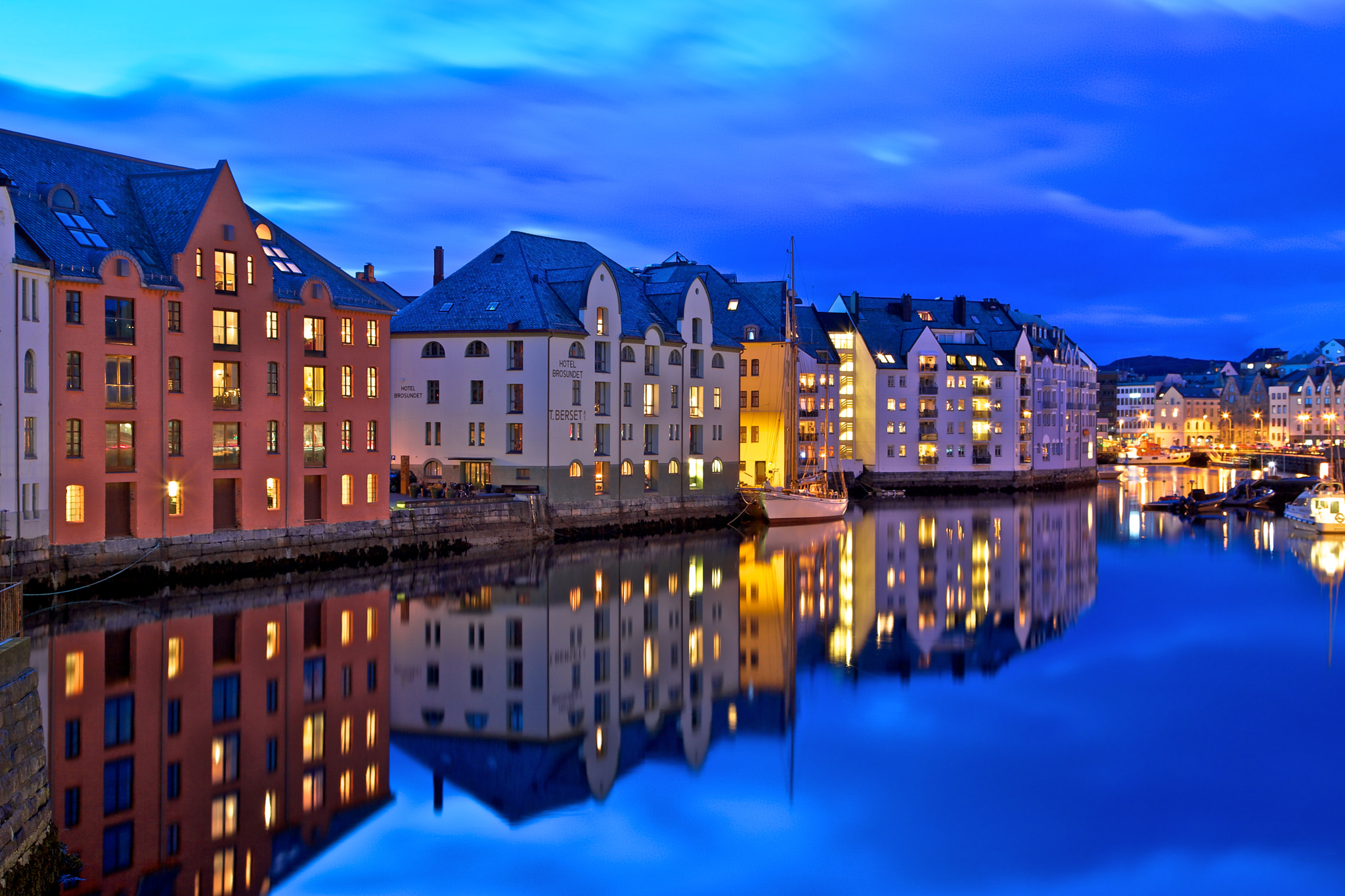 Photograph Blue hour, Norway by Europe Trotter on 500px