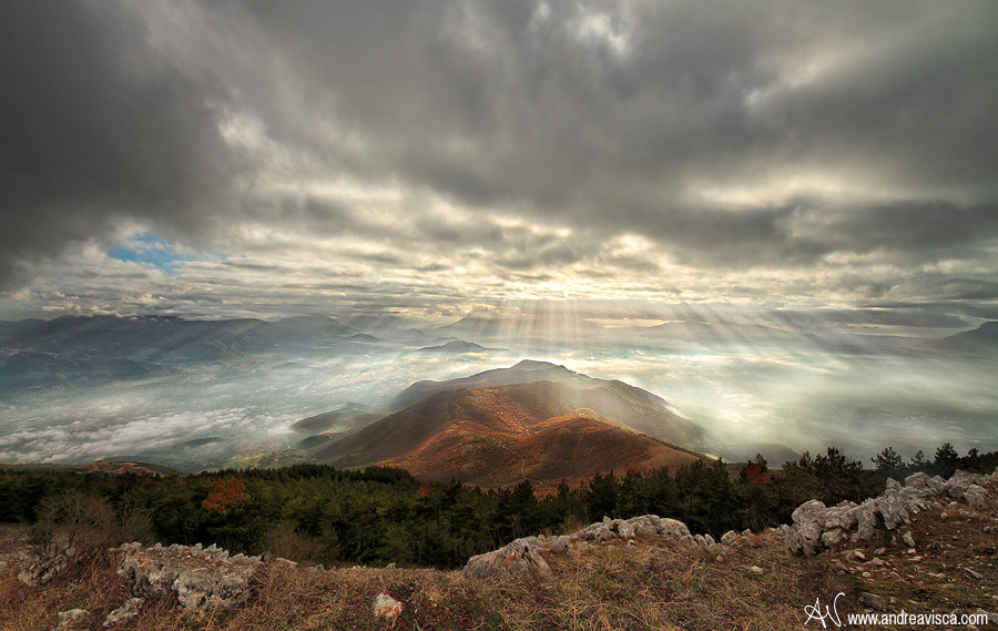 Photograph Divine rays by Andrea Visca on 500px