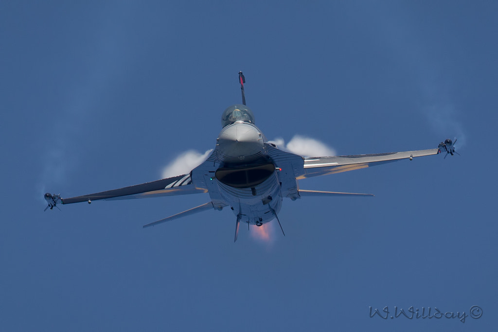 Photograph F16 At Waddington by Wayne Willday on 500px