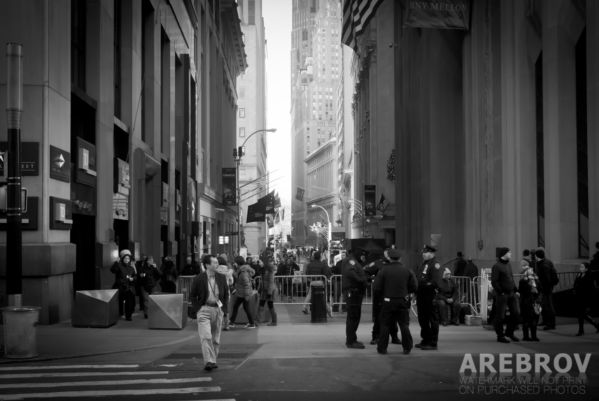Photograph Wall Street, New York by Alexei Rebrov on 500px