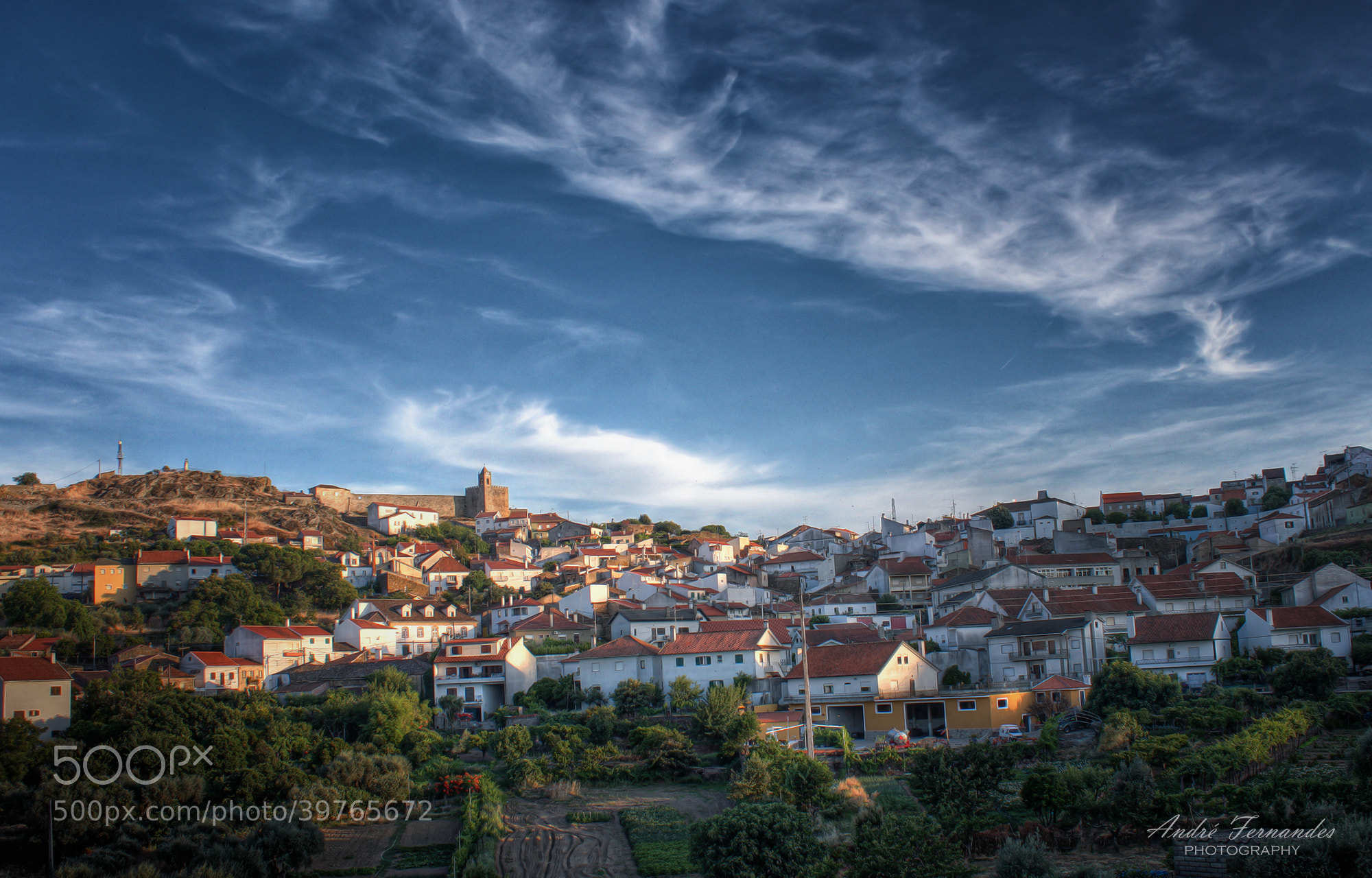 Photograph Penamacor (HDR) by André Fernandes on 500px